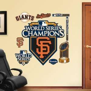 Francisco Giants 2010 WS Champs Locker Room Fathead