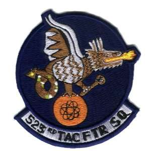 523rd Tactical Fighter Squadron 3.9 Patch Office Products