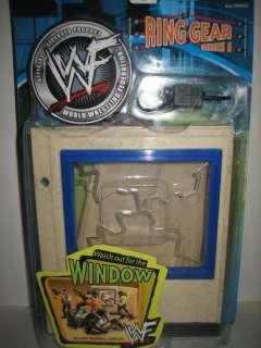 WWE wrestling figure BREAKABLE WINDOW WALL Accessory Ring Gear MOC toy