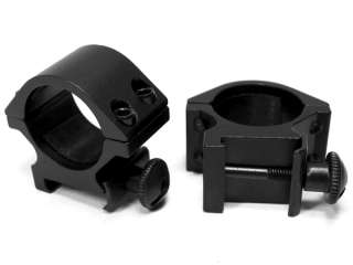 NcSTAR 1 Rifle Scope Rings (2) Weaver Low Profile Aluminum