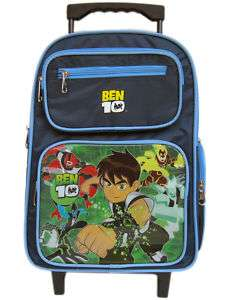Ben 10 Rolling Backpack  Ben10 wheeled book bag