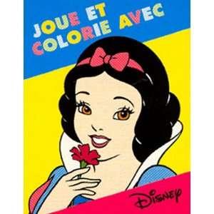 Joue et Colorie avec Blanche Neige (9782230015580): Walt Disney: Books