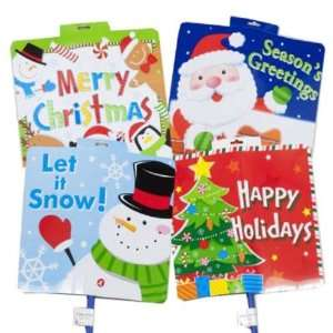 Christmas Yard Sign 13x15 On 26 Inch Stick Case Pack 48