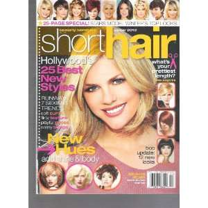 Celebrity Hairstyles Presents Short Hair Magazine (Hollywoods 25 Best