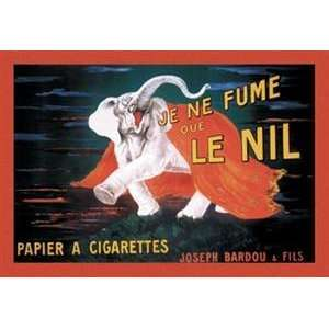 Walls 360 Wall Poster/Decal   Je Ne Fume Que Le Nil