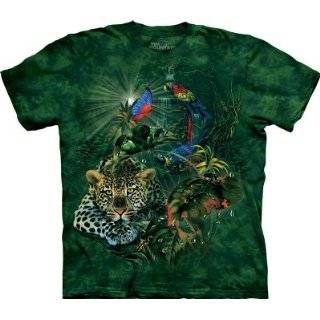 The Mountain Big Cat Collage Tigers Lions Tee T shirt