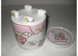New 2011 Sanrio LITTLE TWIN STARS Ceramic Mug with Lid