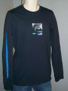 shirt Compound Blue Long Sleeve Wave Stripe down Long Sleeve