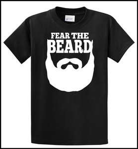 Beard   Brian Wilson   SF San Francisco Giants   T Shirt   Black/White