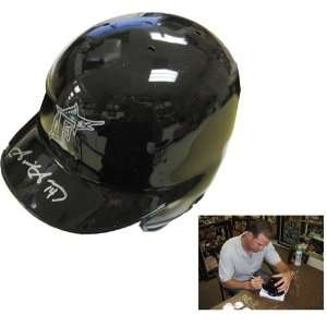 Gaby Sanchez Autographed/Signed Mini Helmet Sports