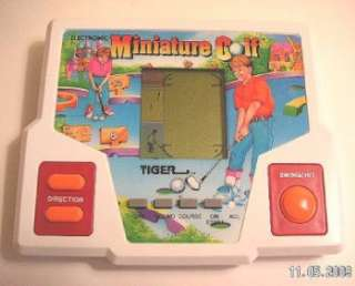Tiger Electronics MINIATURE GOLF Vintage Electronic Handheld Hand Held