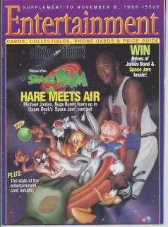Entertainment Cards Magazine Michael Jordan Space Jam