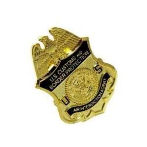 CBP Office of Air and Marine Air Interdiction Mini Badge Lapel Pin