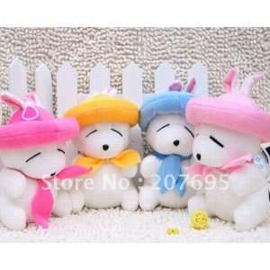 cute dogs plush toy 102g/piece 6 piece/lot high quality pp