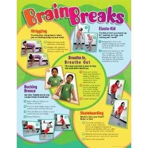 Brain Breaks Chart (9780545119092) Teachers Friend