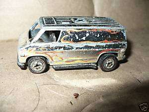 Vintage 1974 Hot Wheels Redline Custom Fire Van