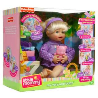 Fisher Price Little Mommy My Very Real Baby Doll