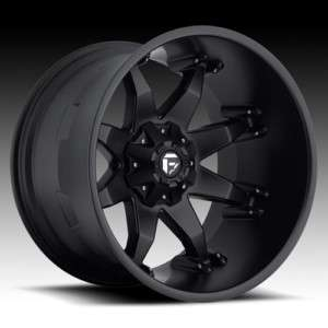 FUEL OFF ROAD BLACK WHEELS 22 X 14 OCTANE CHEVY GMC 1500 TOYOTA TACOMA