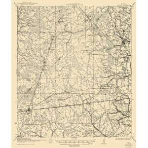 USGS TOPO MAP CAMBON QUAD FLORIDA (FL/WAR DEPARTMENT) 1944: