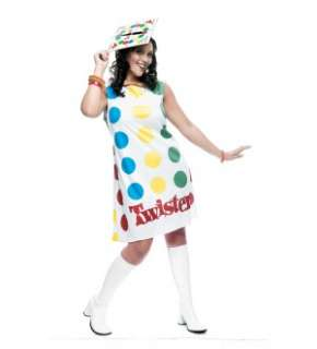 Twister Game Board Dress Costume Adult Plus Extra Large