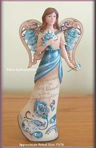 PAVILION PERFECTLY PAISLEY GRANDDAUGHTER ANGEL FIGURINE