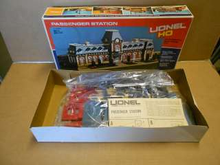 HO Scale Passenger Station   Large Two Story Kit   NEW Rare