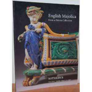 English Majolica, from a Private Collection New York, March 11, 1997