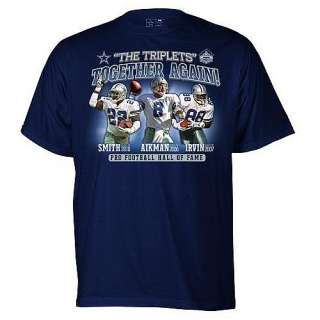 Hall of Fame Apparel Pro Football Hall of Fame Dallas Cowboys Triplets