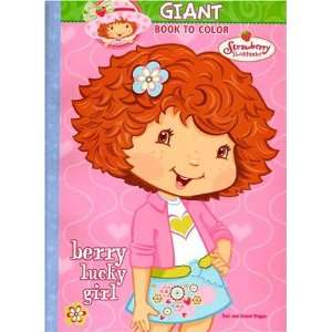 Shortcake Giant Book to Color    Berry Lucky Girl Toys & Games