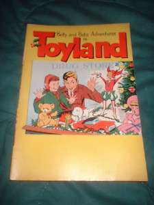1956 BETTY & BOBS ADVENTURES IN TOYLAND ILLUST CATALOG