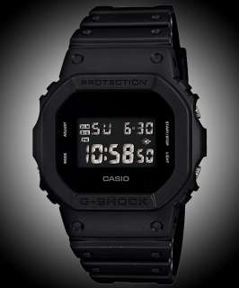 2012 CASIO G SHOCK Solid Colors Black Sports Digital Mens Watch DW