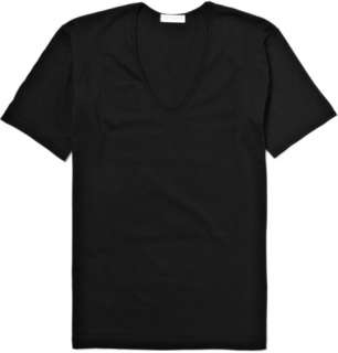 Clothing  Underwear  T shirts  V Neck Cotton T Shirt