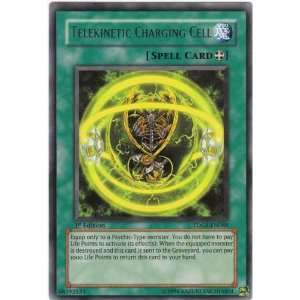 Yugioh TDGS EN088 Telekinetic Charging Cell Rare Card