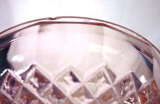 Vintage Pink Depression Glass MISS AMERICA Butter Dish and Cover Old