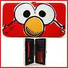 Sesame Street Elmo Hinge Wallet  Check Book Flat Wallet