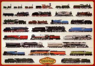 Train Steam Locomotives Posters at AllPosters
