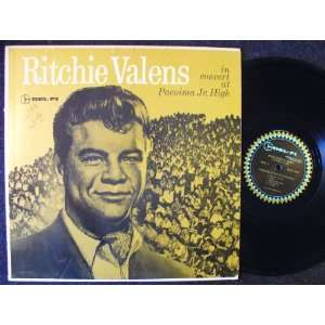 Ritchie Valens in Concert at Pacoima Jr. High: Ritchie Valens