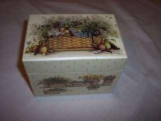 Recipe Card Box, 3 x 5, artwork by Pat Richter