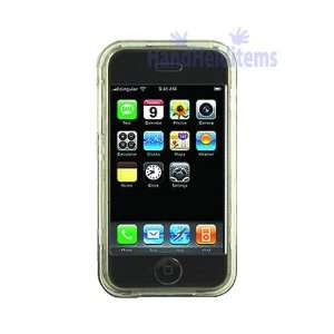 iPhone Crystal Clear Hard Case With Belt Clip   Clear