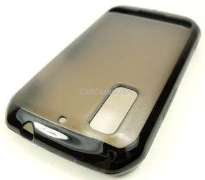 FOR MOTOROLA PHOTON 4G CLEAR BLACK TPU SKIN COVER CASE