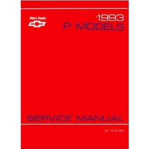 1993 CHEVY P SERIES TRUCK Shop Service Repair Manual