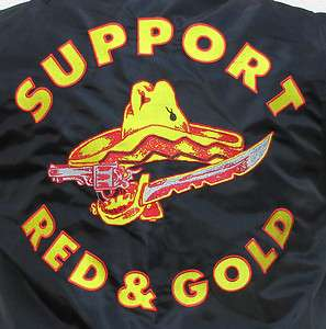 Bandidos MC Support Red & Gold CWU Fliegerjacke S   4XL