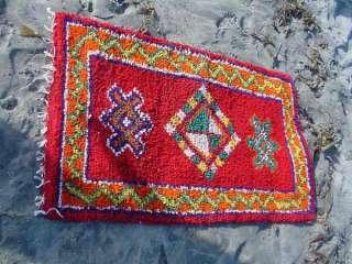 Moroccan Hand Woven Berber Rug Atlas Mnts. Marrakech