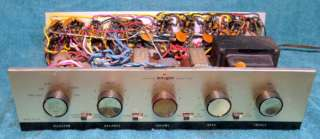 Allied Radio / KNIGHT KN 720 Stereo Tube Integrated Amplifier 6V6