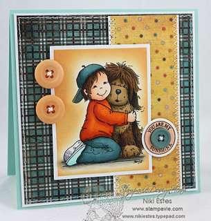 Penny Johnson BOBBY & ME / Clear Stamp Stempel (HUND)