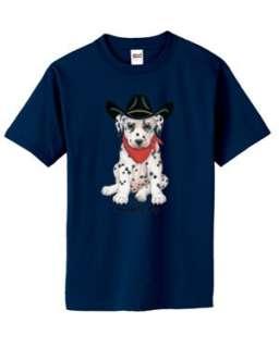 CUTE Saddle Up Cowboy Hat Dog T Shirt S 6x Choose Color