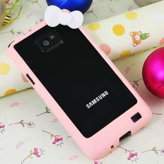 SAMSUNG Galaxy S2 i9100 Hello kitty Bumper Cover Hard Case Schale