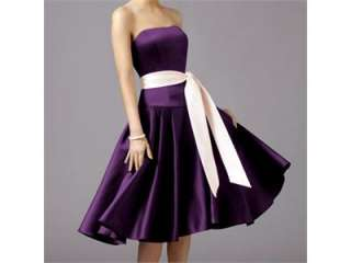 wedding cocktail evening ball party prom dress 8 size cl3026