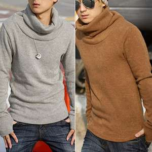 MENS CASUAL POLO SWEATER CARDIGAN 4 COLOR 3 SIZE NEW