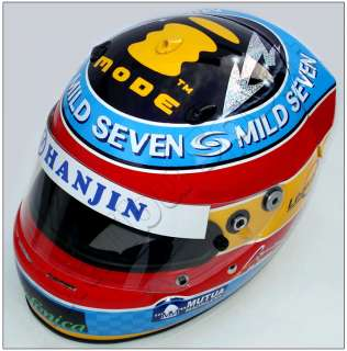 FERNANDO ALONSO 2005 F1 REPLICA HELMET FULL SCALE 11